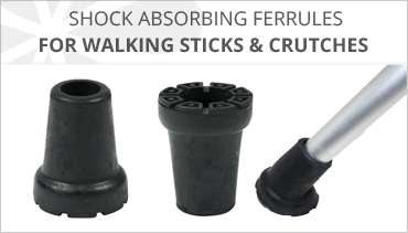 SHOCK ABSORBING RUBBER FERRULES